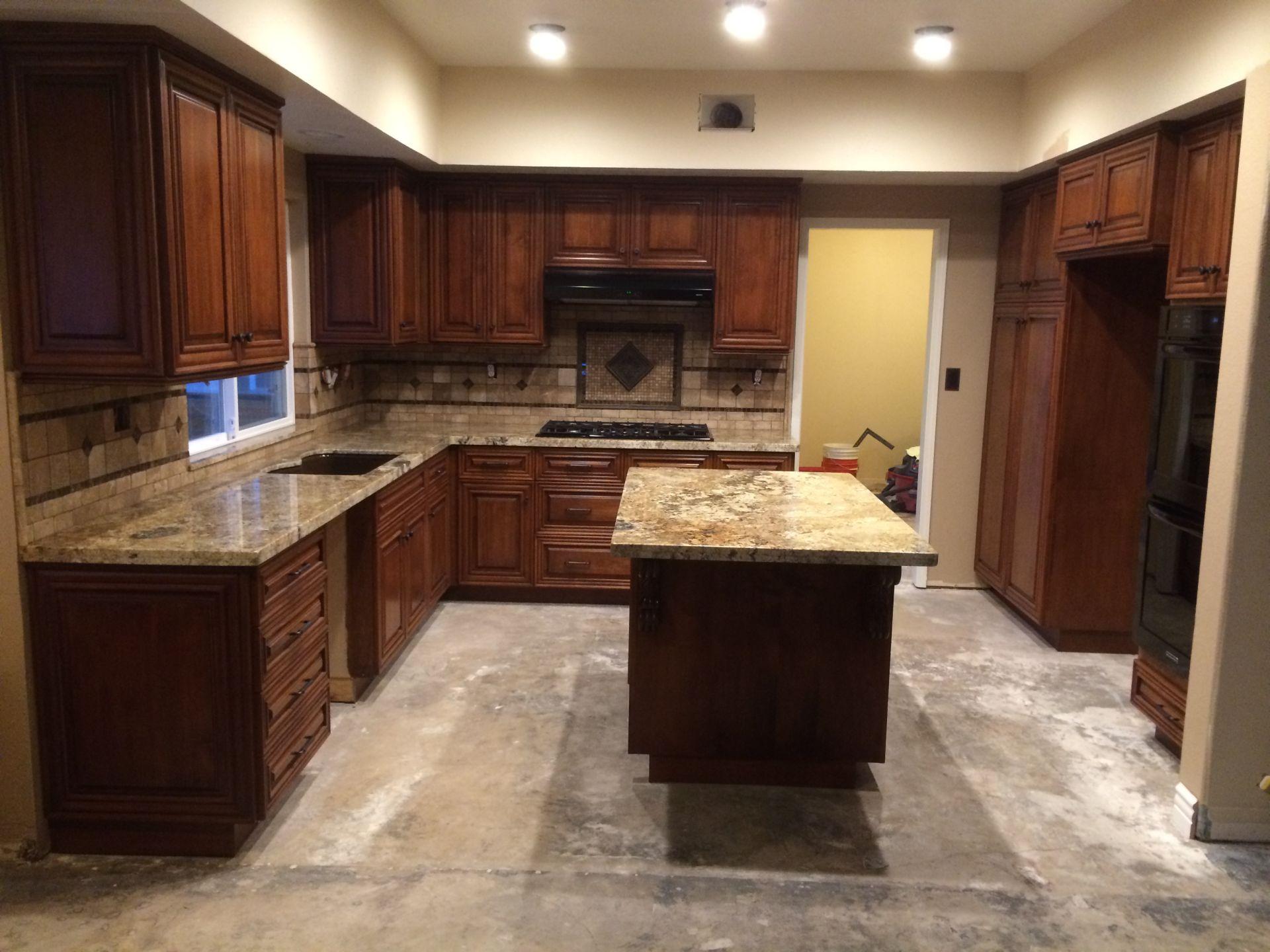 August Oak Woodworks Temecula California Kitchen Cabinets