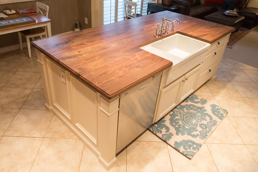 August Oak Woodworks |Temecula California Kitchen Islands