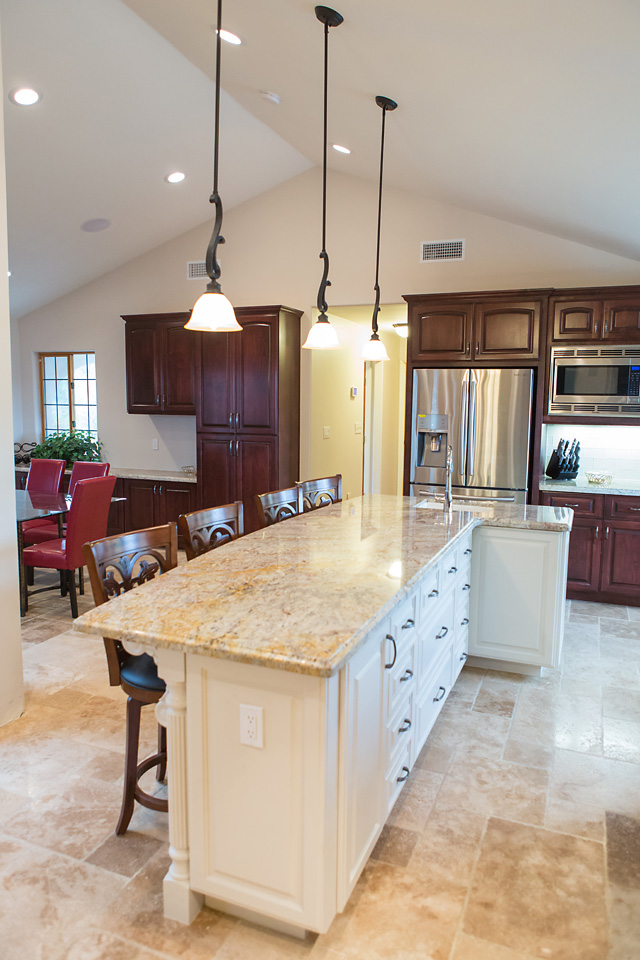 L Shaped Island Glass Stainless Steel Hanging Rang Hood L