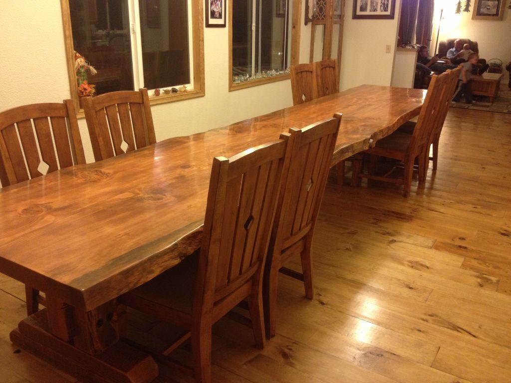 August Oak Woodworks Temecula California Building A Farm Table - Building a farm table